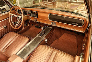 1967 Plymouth Belvedere GTX 426 Hemi Interior Cabin