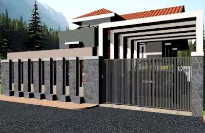 pagar rumah terbaru