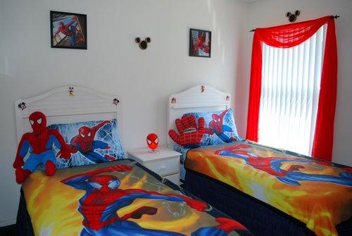 Tema Superhero Di Kamar Tidur | Rumah Saya