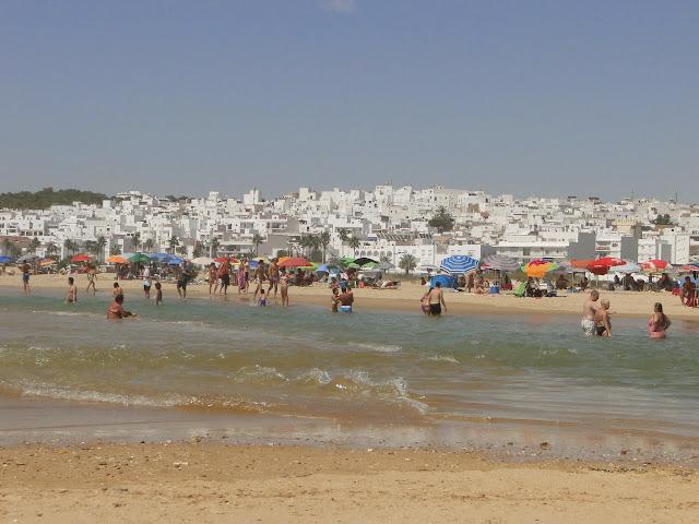 Conil de la Frontera foto desde la playa