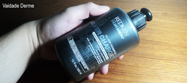 Redken For Men Silver Charge Shampoo Creme Colorant