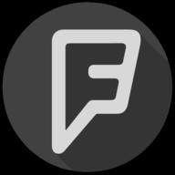 foursquare blackout icon