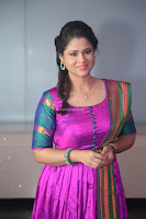 Shilpa Chakravarthy in Purple tight Ethnic Dress ~  Exclusive Celebrities Galleries 022.JPG