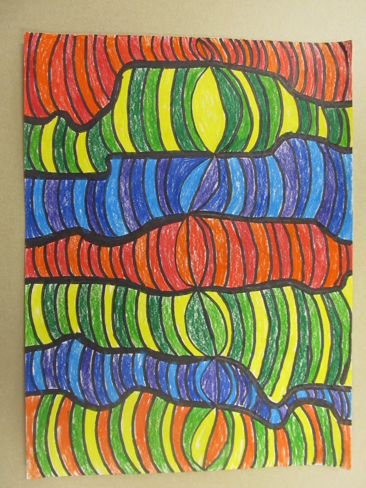 Just Has To Be Yours 4th Grade Op Art Drawings