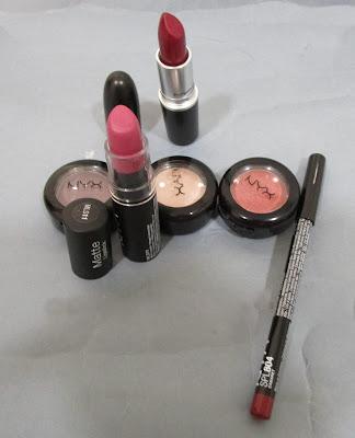 Imagen Compras Nyx Cosmeetics y MacCosmetics