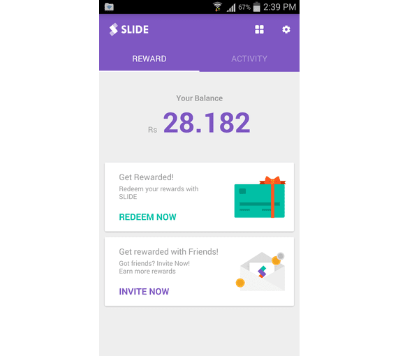 Slide - Earn Free Recharge Pakistan