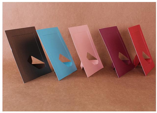 Khung ảnh giấy để bàn kích cỡ 10x15cm