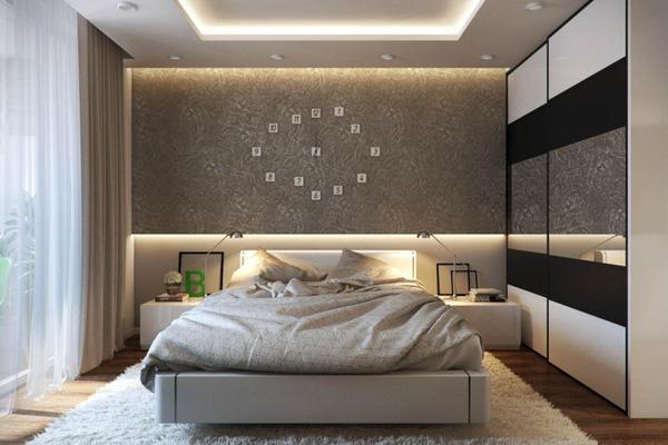 Mẫu thiết kế căn hộ 51m2 đẹp phong cách hiện đại - H4