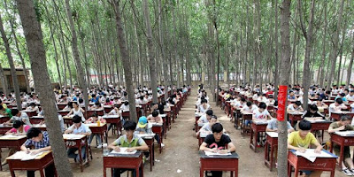 Pelaksanaan Ujian Paling Ekstrim di Dunia