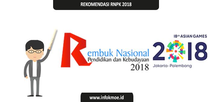 Rekomendasi Hasil Rembuk Nasional Pendidikan 2018