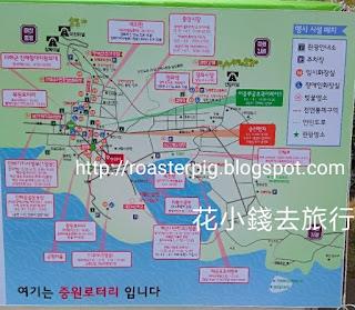 2019鎮海櫻花祭地圖