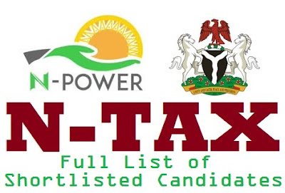 Npower TAX (VAIDS) List of Shortlisted Candidates Names 2017/2018