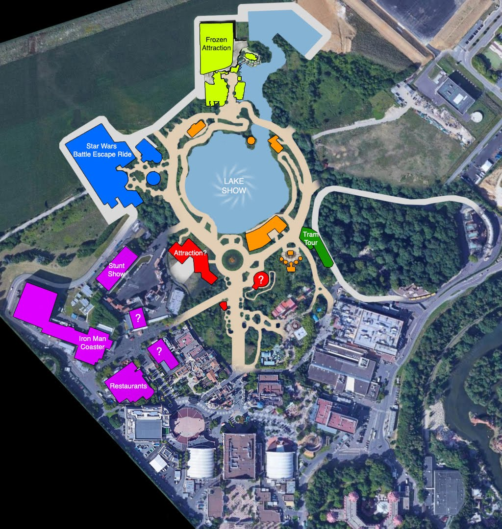 Dlp Walt Disney Studios Expansion Latest Master Plan Unveiled