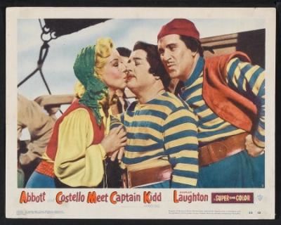 Abbott and Costello Meet Captain Kidd movieloversreviews.filminspector.com lobby card
