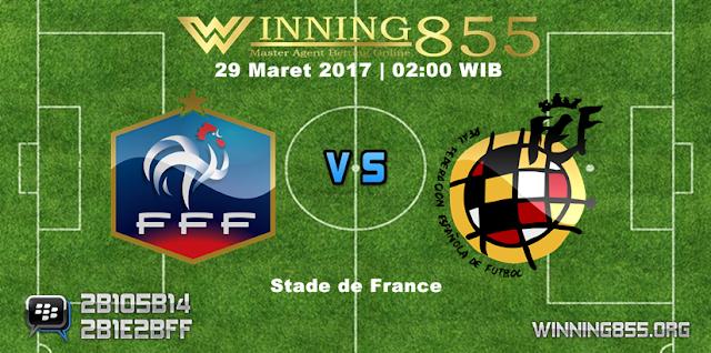 Prediksi Skor Prancis vs Spanyol 29 Maret 2017