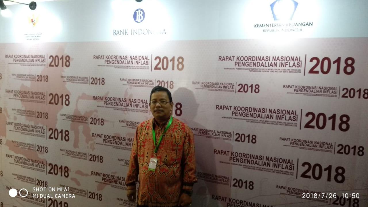 Rupinus Hadir Rakornas Pengendalian Inflasi Tahun 2018