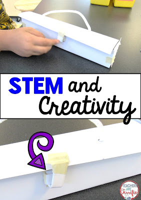 STEM Myth: STEM projects are not creative. Kids just build stuff! Read this post to see why this myth is just not true!