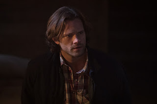 "Jared Padalecki as Sam Winchester in Supernatural 12x04 ""American Nightmare"""