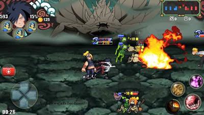 Game Naruto Senki Storm 4 by Sansan'AR (Mod All Character) Apk Terbaru Increase Performance