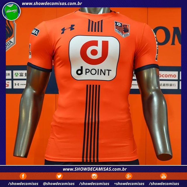 Under Armour lança nova camisa titular do Omiya Ardija. A fabricante de  material esportivo Under Armour apresentou o novo uniforme ... c0eeafe0be60c