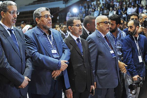 بنكيران يعلن أن مسؤوليته كأمين عام للحزب انتهت