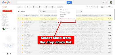 Gmail Mute - Mute