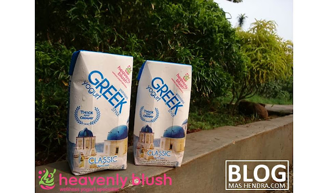 Greek Yogurt From Heavenly Blush - Blog Mas Hendra