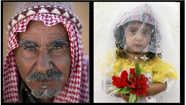 50 year saudi man marries 9 year girl