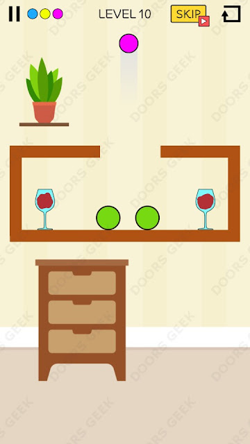 Spill It! Level 10 Walkthrough, Solution, Cheats for Android, iPhone, iPad and iPod