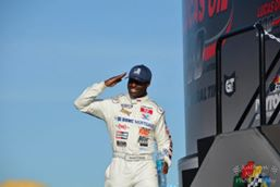 US Naval Officer Makes Jump Up to NASCAR Camping World Truck