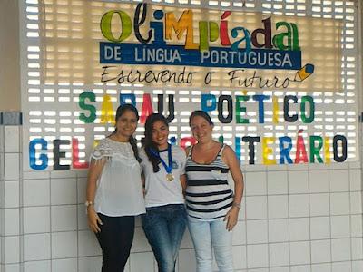 Resultado de imagem para Aluna da Rede Municipal de Sítio Novo/RN é selecionada para Etapa Regional da 5ª Olimpíada de Língua Portuguesa