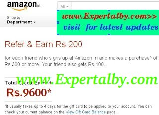 amazon refer and earn proof screenshot cash back