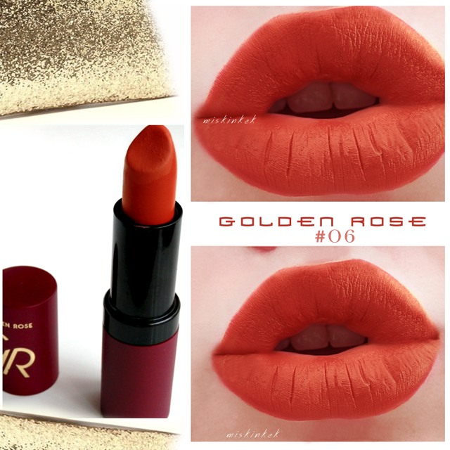Golden_Rose_Velvet_Matte_Lipstick_06_swatches_blog