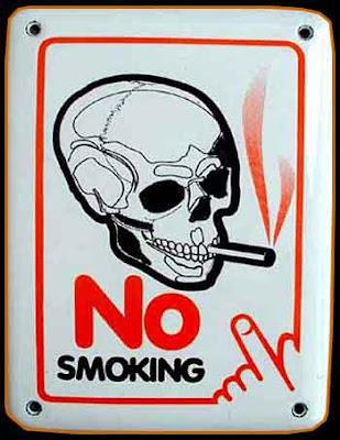 Poster Dilarang Merokok Bahasa Inggris