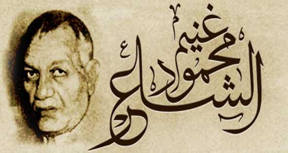 الشاعر محمود غنيم