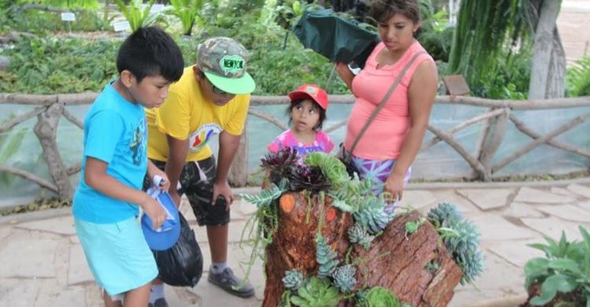 Visita el Parque de las Leyendas y conoce la colección de plantas suculentas en su Jardín Botánico - www.leyendas.gob.pe