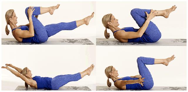 Perut Rata? Bisa Dengan 4 Gerakan Sederhana Ini. Langsung Dari Tempat Tidurmu!