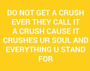 crush quotes status