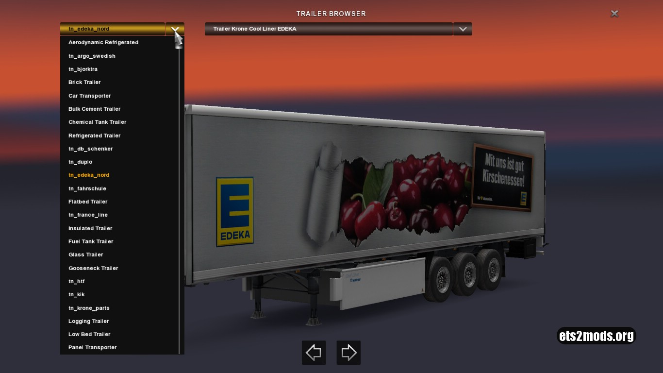 Krone Profi & Cool Liner Trailers Pack