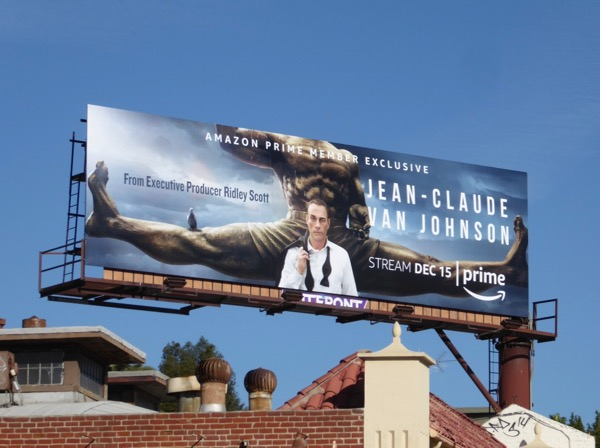 Jean-Claude Van Johnson series billboard