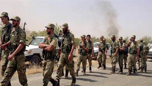 عاجل.. بدأت الحرب.. وصول قوات شعبية تابعة للجيش السوري إلى عفرين