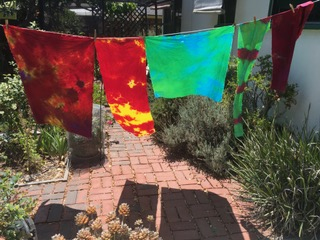 dyeing fabric