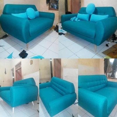 Jasa service sofa ruangan cantik