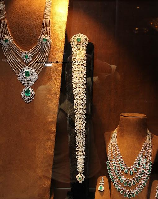 Diamond Wedding Necklace and Jada