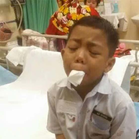 Luahan Ibu, Anak Dibuli dan Dipaksa Gunting Lidah Sendiri