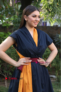 Actress Hansika Motwani Latest Pos at Bogan Movie Press Meet  0052.jpg