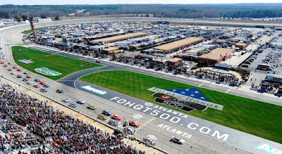 Final Race on #NASCAR Atlanta Motor Speedway Surface