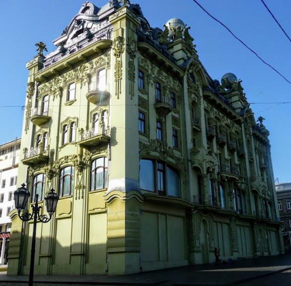 Одесса. Архитектурный декор – балконы