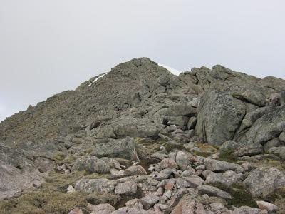 Cairn Toul East Ridge