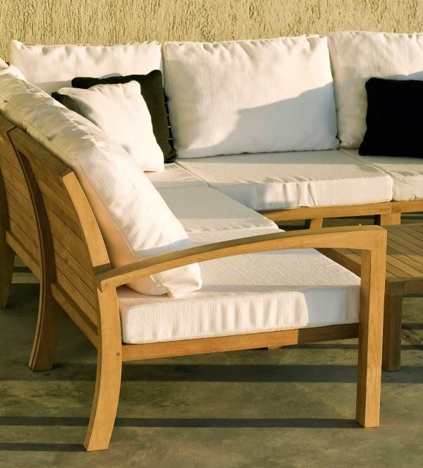Sofás modulares de teca